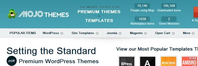 mojo themes premium templates