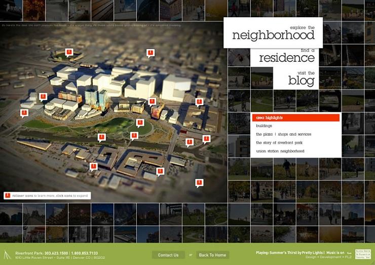 riverfrontPark Flash Website