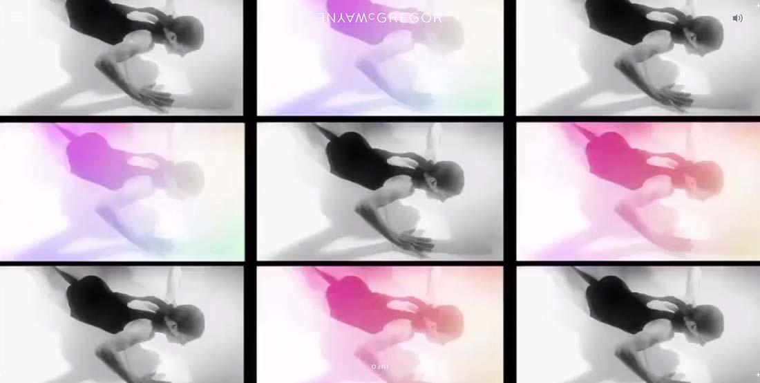 Multi award winning British dance choreographer Wayne McGregor