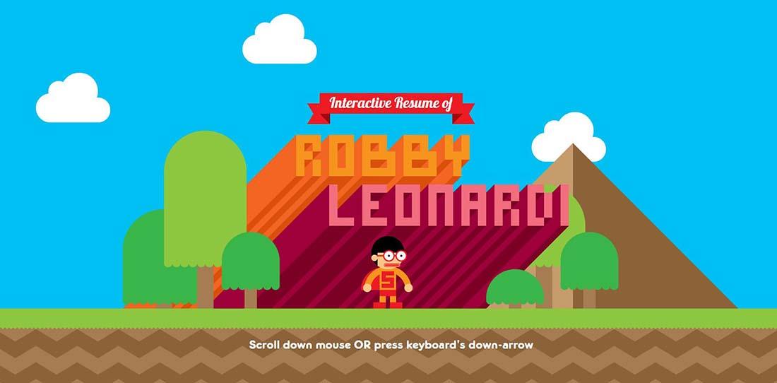 Robby Leonardi Interactive Websites