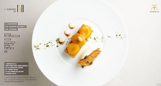 Auberge de l'ill Food Websites