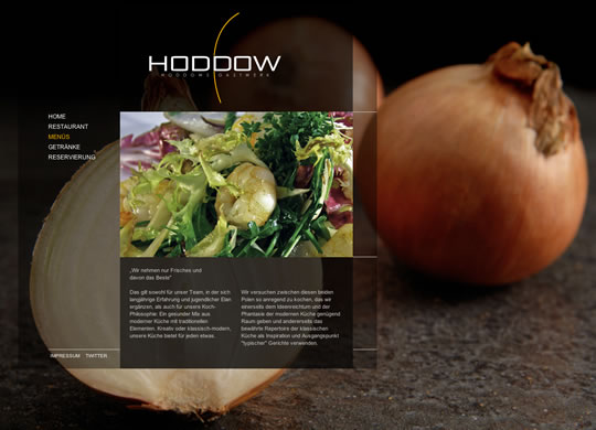 Hoddow Food Websites