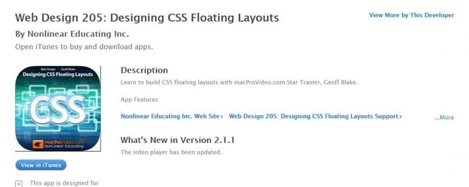 Web Design iPad Apps for Designers