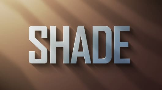 2 shade effect