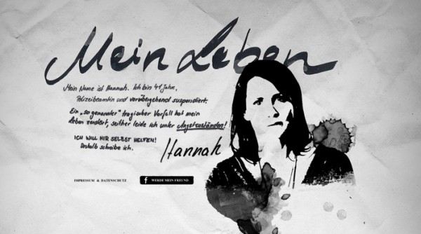 Hannahs Leben Great Typography