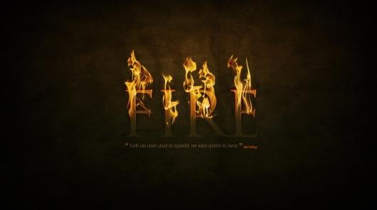 6 fire effect