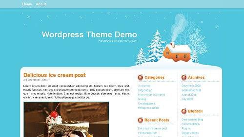 christmas wordpress themes free