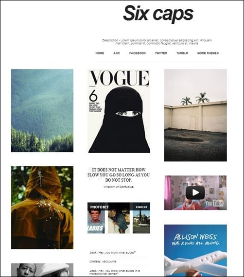 10 Beautiful High Quality Tumblr Themes