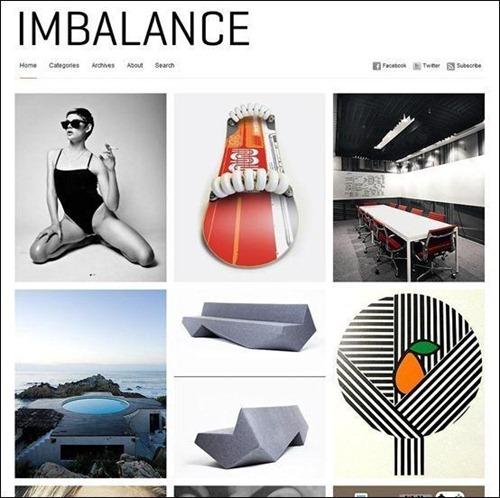 Imbalance free wp theme minimalist
