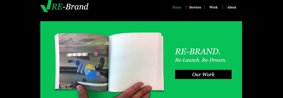 Brand Management Website Template _ WIX