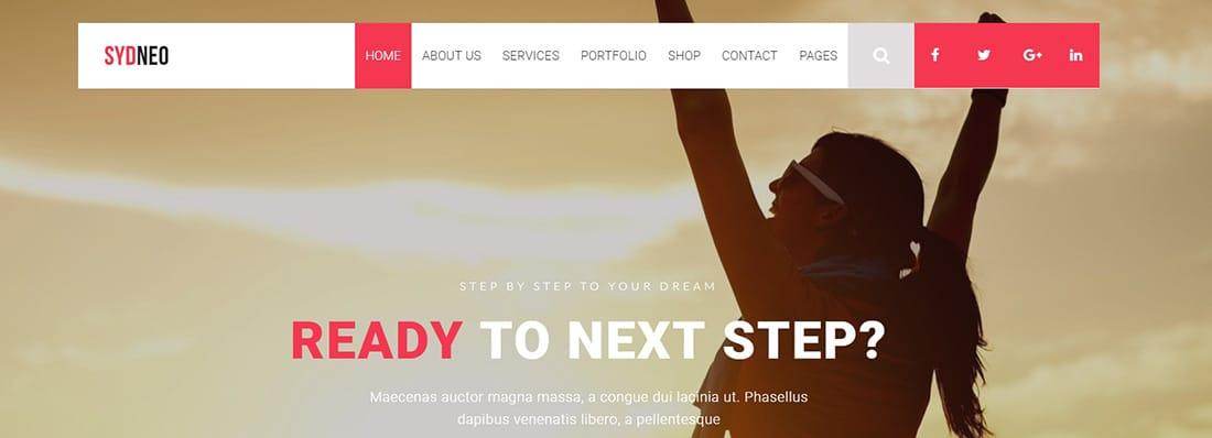 Sydneo - Creative Marketing WordPress Theme