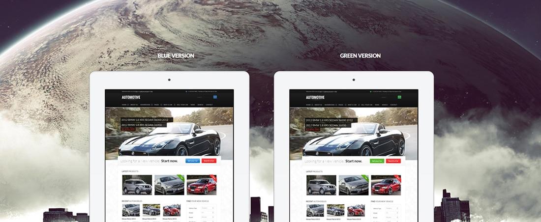 Automotive Cars Dealer Responsive HTML5 CSS3 Preview - ThemeForest
