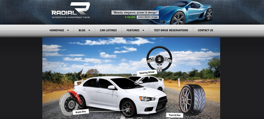 Radial - Premium Automotive & Tech HTML Template Preview - ThemeForest