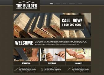 Top 20 maintenance service website templates themes Best home improvement website design
