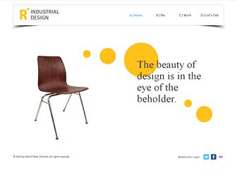product design Marketing Website Templates