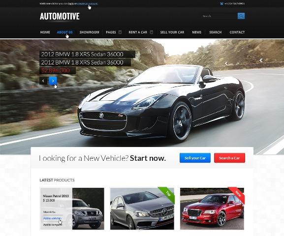 Top 20+ Transportation Website Templates