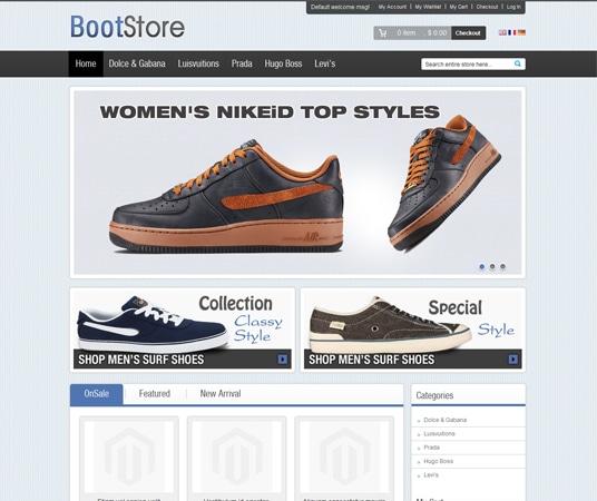Boot Magento