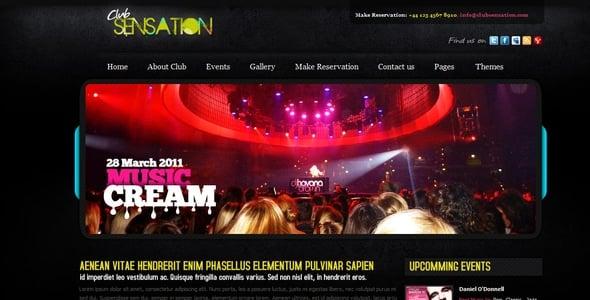 20 Creative DJ and Nightlife Website Templates & WordPress Themes