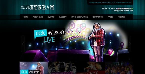 Mobile Dj Website Template. 18 best responsive html5 music website ...