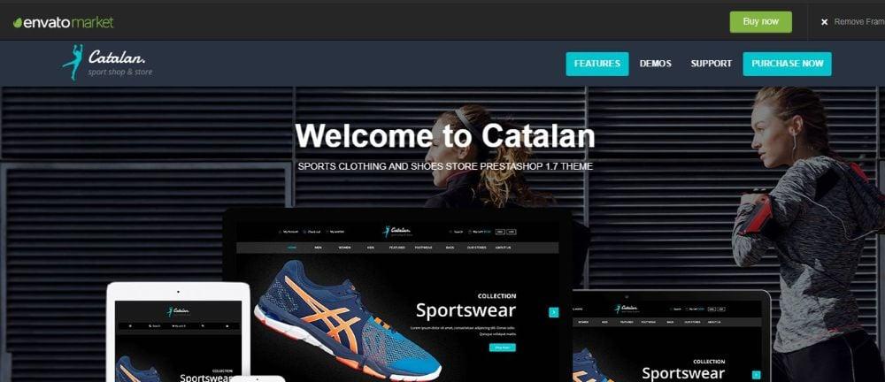 Catalan Sports Theme