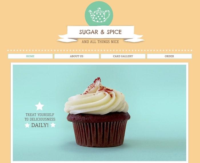 cupcakes-shop-template