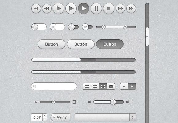 iTunes Inspired UI Kit
