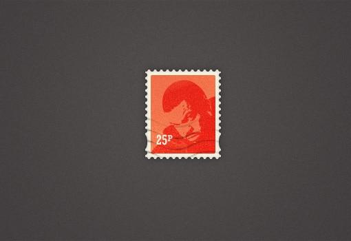 Pretty Little Postage Stamp