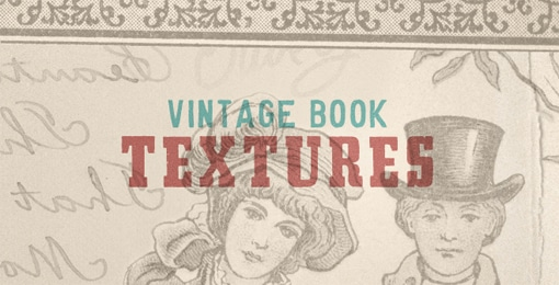 Vintage Book Textures