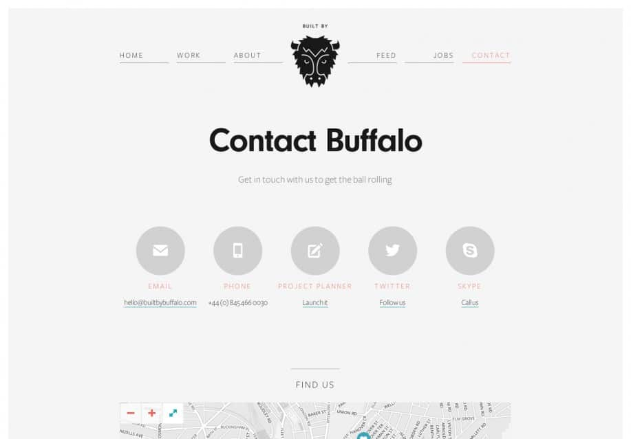 Contact Us - Built by Buffalo Web Design - Brighton UK