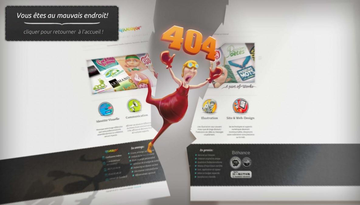 Illucolor 404 page