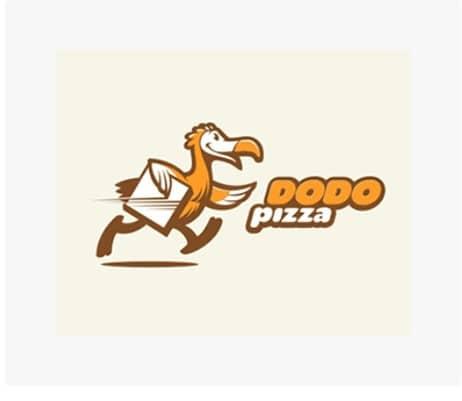 Animal Logo pizza