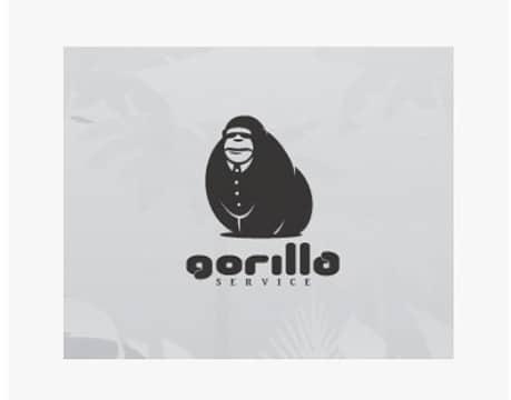Animal Logo Gorilla service