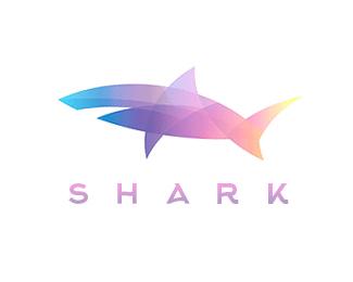 Shark colorful logos