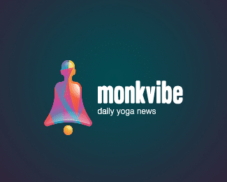 Monkvibe colorful logos