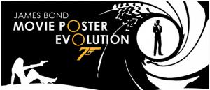 James Bond Movie Poster Evolution