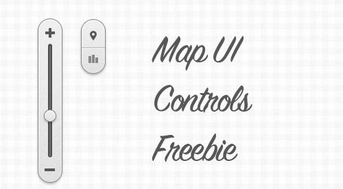 Map UI Controls Freebie