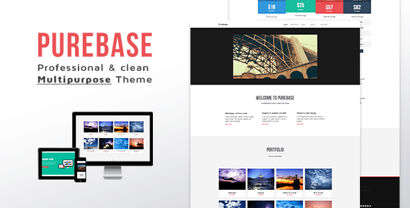 Purebase Muse Website Template
