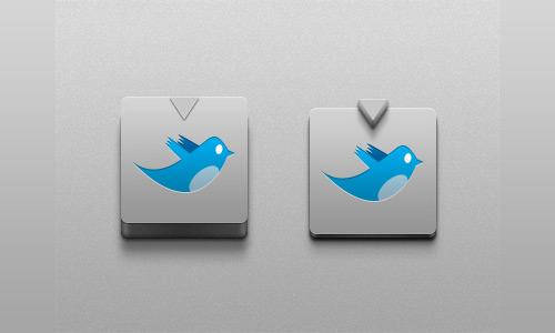 Twitter Button Freebie