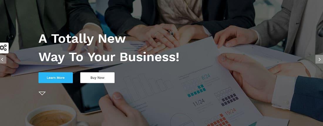 Sufia Corporate Landing Page Templates