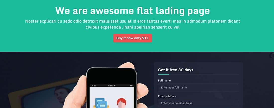 Layapan Bootstrap Corporate Landing Page