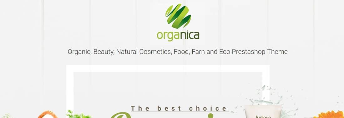 Organica PrestaShop Template