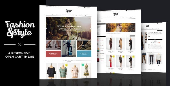 20 Elegant Fashion OpenCart Ecommerce Website Templates