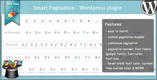 Smart Pagination free pagination plugin
