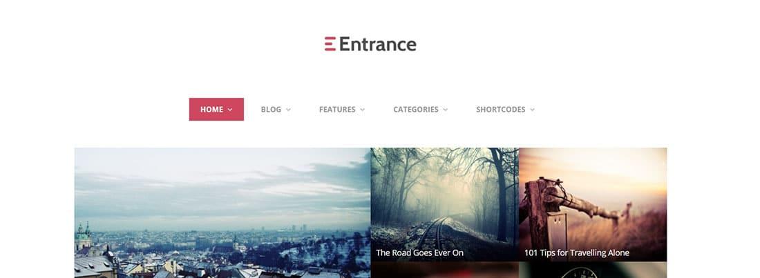 Entrance review blog templates