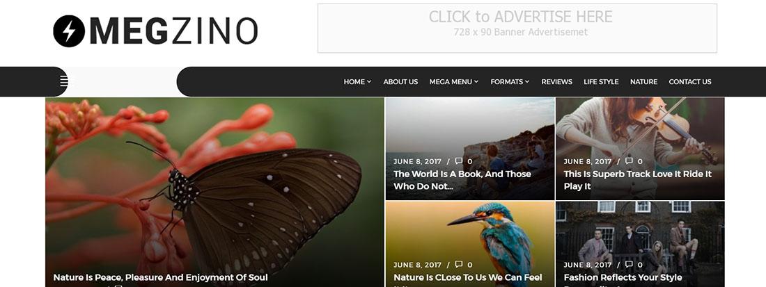 Magzino review blog templates