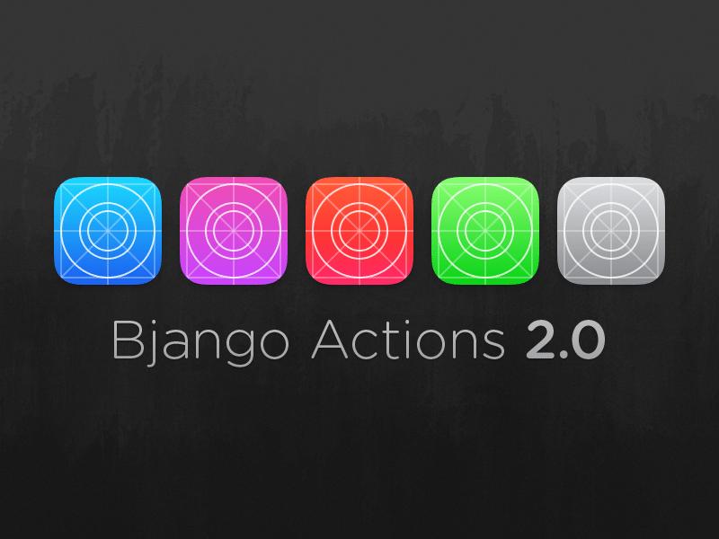 Bjango Actions 2.0 (PSDs + Actions)