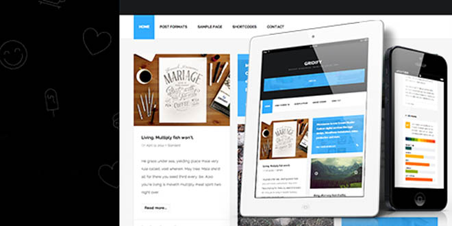 Newest Premium Personal Blog WordPress Themes