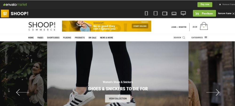 Shoop!- Woocommerce WordPress theme
