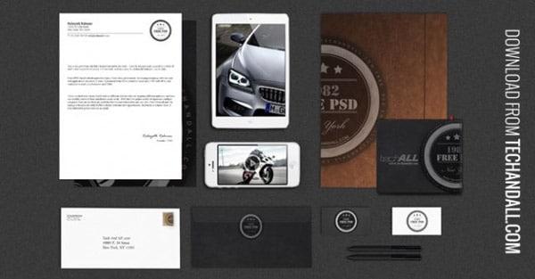 Luxury Branding Identity Mockup