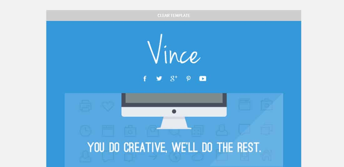 Vince Best Newsletter Templates for MailChimp